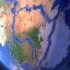 ¿Hacia dónde viajan los continentes?