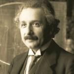 Albert Einstein (1879-1955), físico alemán de origen judío.