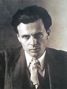 Aldous Leonard Huxley (1894-1963), se le considera uno de los más importantes representantes del pensamiento moderno.