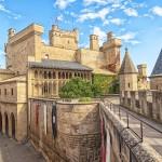 Palacio de los reyes de Navarra de Olite (España), se construyó entre los siglos XIII y XIV y en su época ya fue considerado uno de los más hermosos de Europa.