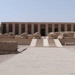 Templo funerario de Seti I en Abidos.