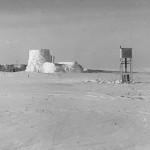 """Estación Eismitte (en alemán significa """"en el centro del hielo"""") en 1930."""