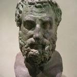 Esquilo de Eleusis es considerado el primer gran representante de la tragedia griega.