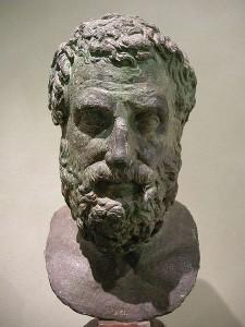 Esquilo de Eleusis está considerado como el primer gran representante de la tragedia griega.