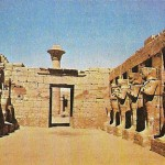Sala hipóstila del templo de Karnak.