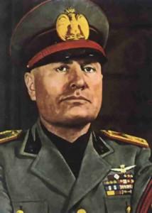 Benito Amilcare Andrea Mussolini (1883-1945) fue un periodista, militar, político y dictador italiano.