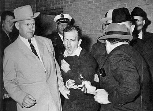 Jack Ruby y Lee H. Oswald
