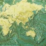 Las cordilleras que existen en los fondos de los océanos (dorsales oceánicas), son lugares de afloración de nuevos materiales lo que provoca su crecimiento.