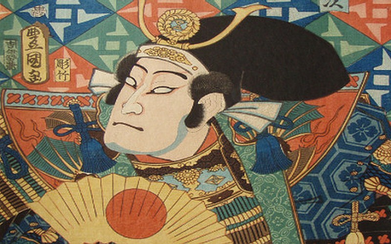 Los espíritus malévolos del kabuki japonés.