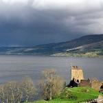 El lago Ness, en las Tierras Altas escocesas.