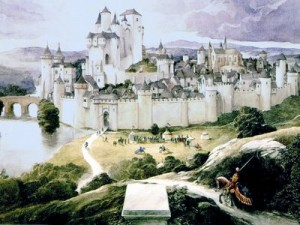 Al decir de algunos, Camelot sería no tanto un lugar histórico como una ciudad idealizada.