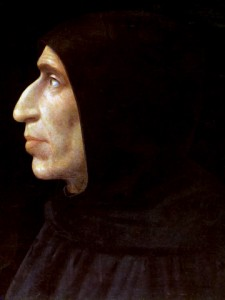Girolamo Savonarola (1452-1498) fue un religioso dominico condenado a la hoguera por un tribunal de la Inquisición y la inclusión de su obra en el Índice de libros prohibidos.