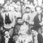 Shanti Devi cuando niña rodeada de su familia.
