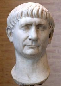 Marco Ulpio Trajano, emperador romano que imperó desde el año 98 hasta su muerte en 117.
