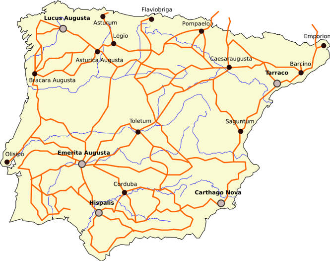 Hispania en el mundo romano