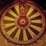 La (supuesta) mesa redonda llamada 'del rey Arturo'.