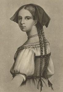 Friederike Brion (1752-1813) inspiró en Goethe poesías de tonalidades completamente nuevas dentro de las letras alemanas.