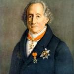 Goethe (1749-1832) fue un poeta, novelista, dramaturgo y científico alemán que ayudó a fundar el romanticismo, movimiento al que influenció profundamente.