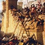 Ciudad de Acre, a orillas del mar Mediterráneo. Victoria decisiva musulmana.