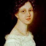 Ulrike von Levetzow, pintura anónima de 1821.