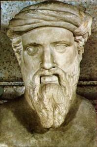 Pitágoras fue un filósofo y matemático griego.