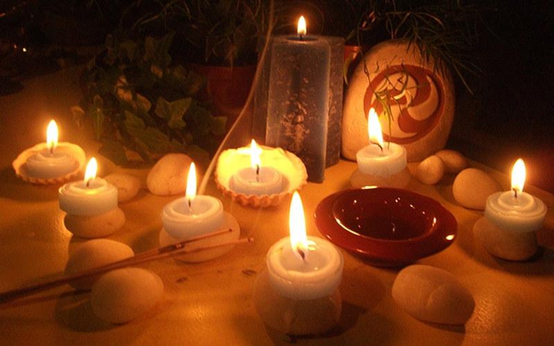 El mágico encanto de las velas.