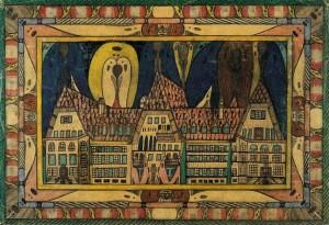 Clínica Waldau, 1921, de Adolf Wölfli.