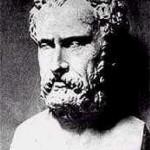 La principal preocupación de Jenófanes es defender la unidad de Dios contra el politeísmo antropomórfico de su tiempo.