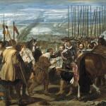 'La rendición de Breda' o 'Las lanzas' de Diego Velázquez, 1634. Óleo sobre lienzo, 307x367 centímetros.