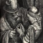 Un cuento de hadas recopilado y adaptado por Charles Perrault, publicado en 1697, en el que una mujer descubre que su marido oculta en una habitación prohibida los cadáveres de sus anteriores esposas.