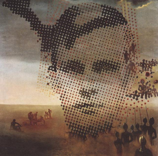 Retrato de mi hermano muerto (Salvador Dalí, 1963)