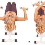 Hay infinidad de ejercicios para mantener el pecho firme, lo importante es coger la rutina de hacerlos todos los días.