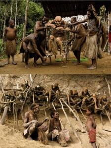 Las creencias animistas siguen muy extendidas entre las sociedades primitivas.