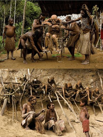 Las creencias animistas siguen muy extendidas entre las sociedades primitivas…