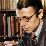 Jean-Paul Charles Aymard Sartre (1905-1980) fue un filósofo, escritor, novelista, dramaturgo, activista político, biógrafo y crítico literario francés, exponente del existencialismo y del marxismo humanista.