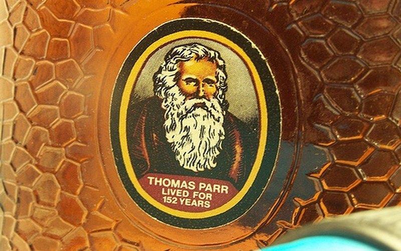 Thomas Parr, el viejo hombre de Shropshire.