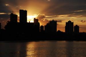 A la hora del crepúsculo, la sensación de paz y serenidad alcanza valores inigualables.
