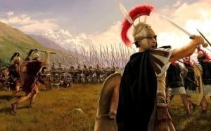 El manípulo fue una unidad de la legión romana, ideada durante las Guerras Samnitas. Estaba compuesta por un total de ciento sesenta infantes.