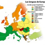 Las lenguas de Europa.