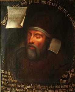 La vida palaciega de Thomas Parr duró apenas tres semanas. La autopsia mostró que no había causa determinable de su muerte, y se supuso que había fallecido simplemente por la edad.