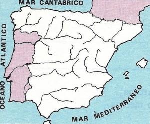 Ríos de España.