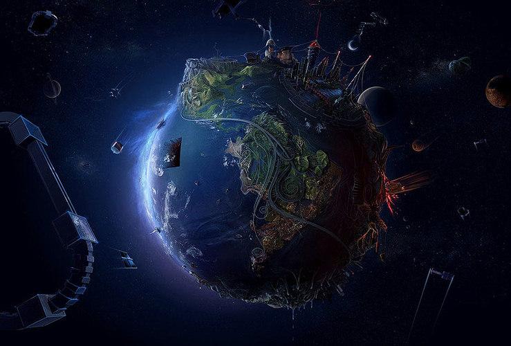 El viaje fantástico de una nave espacial llamada Tierra