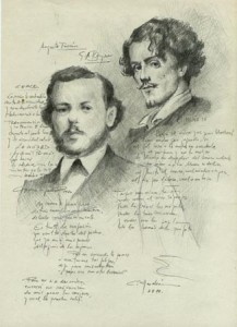 Augusto Ferrán y Gustavo Adolfo Bécquer.