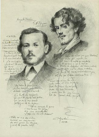Augusto Ferrán y Gustavo Adolfo Bécquer