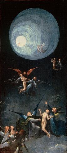 La Ascensión al Empíreo (una de las cuatro tablas)