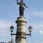Estatua de Freya (o Freyja) en Estocolmo, Suecia.