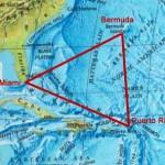 El Triángulo de las Bermudas, región situada entre Florida, las Bermudas y Puerto Rico.