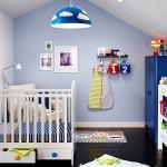 La habitación del bebé.