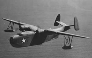 Hidroavión bimotor Martin PBM Mariner.
