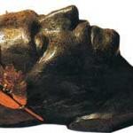 Máscara mortuoria de Napoleón I.